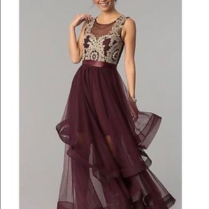 City triangles prom dress